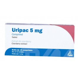 Uripac 5 mg 15 cps - Dogteur