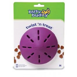 Busy Buddy Twist'n Treat Jouet friandise Chien M - Dogteur