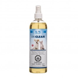 Uri-Clean Spray contre les odeurs d'urines animales 500 ml - Dogteur
