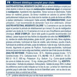 Royal Canin Veterinary Diet Cat Gastro Intestinal Moderate Calorie GIM35 2 kg - Dogteur