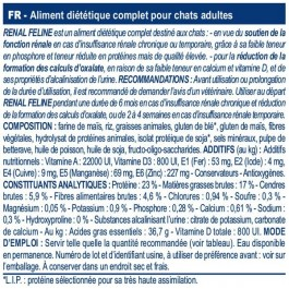 Royal Canin Veterinary Diet Cat Renal RF23 2 kg - Dogteur