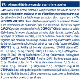 Royal Canin Veterinary Diet Dog Cardiac EC26 14 kg - Dogteur