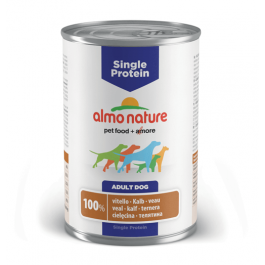 Almo Nature Chien Single Protein Veau 24 x 400 grs - Dogteur