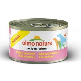 Almo Nature Chien Classic Veau et jambon 24 x 95 grs - Dogteur