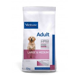Virbac Veterinary HPM Adult Large & Medium Dog 12 kg - Dogteur