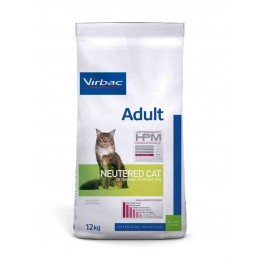 Virbac Veterinary HPM Adult Neutered Cat 12 kg - Dogteur