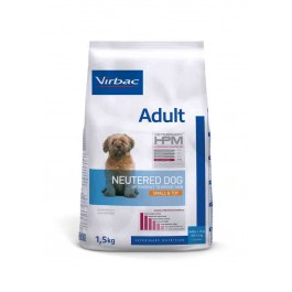 Virbac Veterinary HPM Adult Neutered Small & Toy Dog 1.5 kg - Dogteur