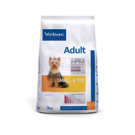 Virbac Veterinary HPM Adult Small & Toy Dog 3 kg - Dogteur