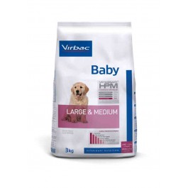 Virbac Veterinary HPM Baby Large & Medium Dog 3 kg - Dogteur