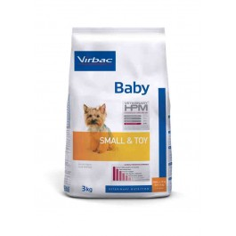 Virbac Veterinary HPM Baby Small & Toy Dog 3 kg - Dogteur