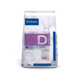 Virbac Veterinary HPM Dermatology Support Chien 3 kg - Dogteur