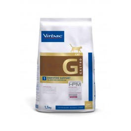 Virbac Veterinary HPM Gastro Digestive Support chat 1.5 kg - Dogteur