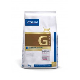 Virbac Veterinary HPM Gastro Digestive Support chat 3 kg - Dogteur