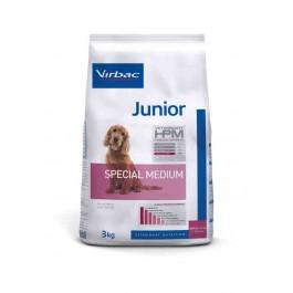 Virbac Veterinary HPM Junior Special Medium Dog 3 kg - Dogteur
