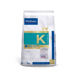 Virbac Veterinary HPM Kidney Support pour Chat 3 kg - Dogteur