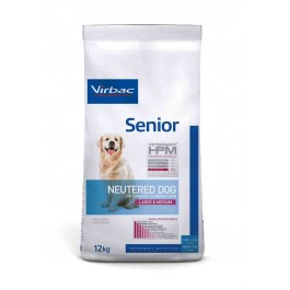 Virbac Veterinary HPM Senior Neutered Large & Medium Dog 12 kg - Dogteur