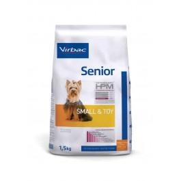 Virbac Veterinary HPM Senior Small & Toy Dog 1.5 kg - Dogteur