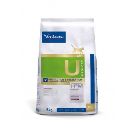 Virbac Veterinary HPM Urology Dissolution & Prevention chat 3 kg - Dogteur