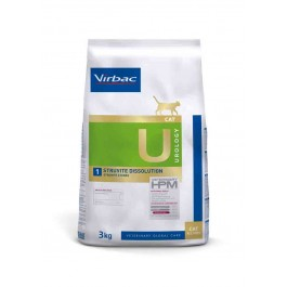 Virbac Veterinary HPM Urology Struvites Dissolution Chat 3 kg - Dogteur