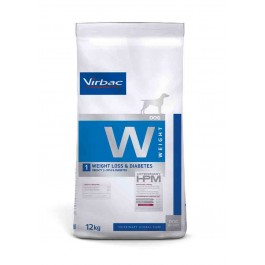 Virbac Veterinary HPM Weight Loss & Diabetes Chien 12 kg - Dogteur