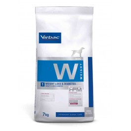 Virbac Veterinary HPM Weight Loss & Diabetes Chien 7 kg - Dogteur