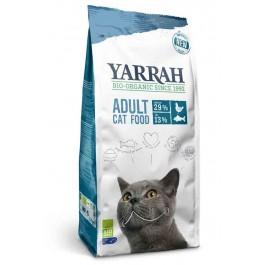 Yarrah Bio Croquettes au poisson MSC pour chats 10 kg - Dogteur