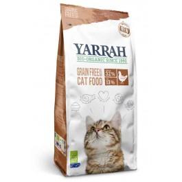 Yarrah Bio croquettes au poulet et poisson sans céréales (Grain Free) pour chat 800 grs - Dogteur