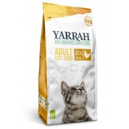 Yarrah Bio Croquettes au poulet pour chat 10 kg - Dogteur