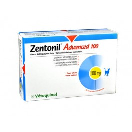 Zentonil Advanced 100 mg 30 cps - Dogteur