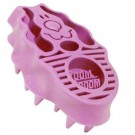 Kong Brosse Zoom Groom rose pour chien