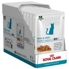 Royal Canin Veterinary Cat Skin & Coat Sachet 12 x 85 g