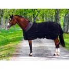 Back On Track Chemise Filet pour Cheval noir 115 cm