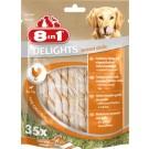 8in1 Twisted Sticks XS pour chien x35- La Compagnie des Animaux