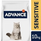 Advance Adult Sensitive Chat au saumon 10 kg- La Compagnie des Animaux