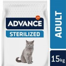 Advance Sterilized Chat à la dinde 15 kg - La Compagnie des Animaux