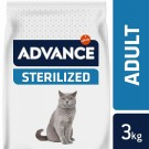 Advance Sterilized Chat à la dinde 3 kg - La Compagnie des Animaux