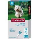 Advantix petit chien (4-10 kg) - 4 pipettes