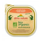 Almo Nature Chien Bio Organic Maintenance Saumon 9 x 300 grs