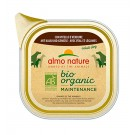 Almo Nature Chien Bio Organic Maintenance veau et legumes 32 x 100 grs