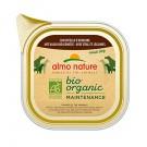 Almo Nature Chien Bio Organic Maintenance veau et legumes 9 x 300 grs