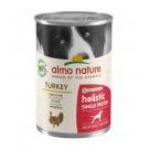 Almo Nature Chien Holistic Single Protein Digestion à la dinde 24 x 400 g