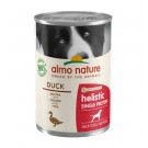 Almo Nature Chien Holistic Single Protein Digestion au canard 24 x 400 g