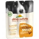 Almo Nature Holistic Snack au poulet pour chien 3 x 10 g