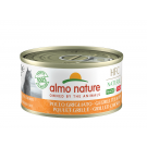 Almo Nature Chat Natural HFC Sans Céréales Made In Italy Poulet Grillé 24 x 70 g