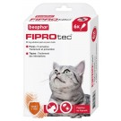 Beaphar Fiprotec chat 6 pipettes- La Compagnie des Animaux