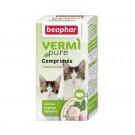 Beaphar vermipure comprimés purge aux plantes pour chaton et chat 50 cps- La Compagnie des Animaux
