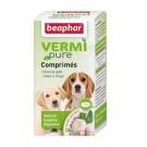Beaphar Vermipure comprimés purge aux plantes pour chiot et petit chien 50 cps- La Compagnie des Animaux
