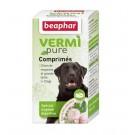 Beaphar Vermipure comprimés purge aux plantes pour moyen et grand chien + 15 kg 50 cps- La Compagnie des Animaux