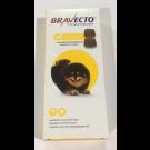 Bravecto Très petit chien 2 à 4,5 kg 2 cps- La Compagnie des Animaux