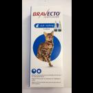 Bravecto Spot-On CHAT 2,8 - 6,2  kg 2 pipettes- La Compagnie des Animaux